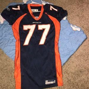 Bunkkey player worn Denver Broncos jersey